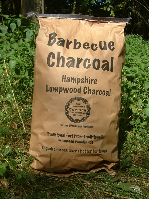 Hampshire charcoal bag