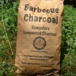 Image showing a hampshire branded charcoal bag